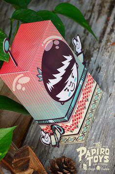 PAPER TOYS SERIE I on Behance #vector #astronaut #illustration #paper #toy