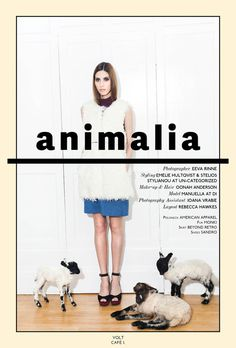 Animalia #model #volt #photography #fashion #voltcafe #editorial #magazine