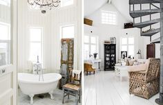 Hus till salu #interior #design #decor #deco #country #decoration