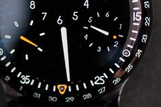A Closer Look At The Type 3's Dial #dial #design #display #3 #industrial #typeface #watch #type #ressence