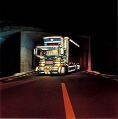 decotora #truck #neon