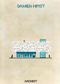 12-Federico-Babina-Archist-Series-yatzer #illustration #design #architecture