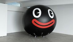 FriendsWithYou | Guild Show at Galerie Perrotin #design #graphic #balloon #illustration #smile #art