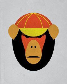 Evan Stremke #stremke #design #evan #monkey
