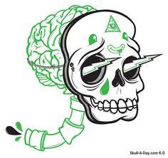 illustration #illustration #skull
