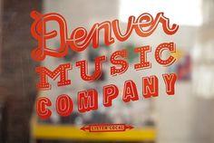 Pencil + Paper :: Art Direction & Design :: Justin Fuller #justin #design #denver #music #logo #fuller