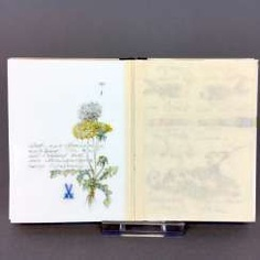 Frank Schmidt: Meissen porcelain, Three porcelain books / books with pages made of Meissner porcelain, equipped, unique!!! #porcelain