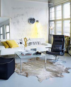 desire to inspire desiretoinspire.net Steen #interiors #white