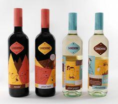 Sangwine - Lydia Nichols #packaging #illustration #design #package