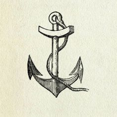 All sizes | Anchor | Flickr - Photo Sharing! #vintage #graphic #anchor