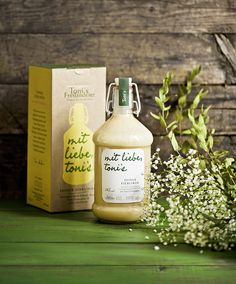 Toni's Egg Liqueur by moodley brand identity #packaging