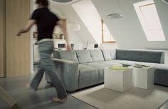 Modern Grey couch #interior #couch #design #modern
