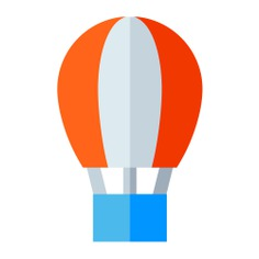 See more icon inspiration related to balloon, travel, air, hot air balloon, transportation, urban, trip, flight, fly, air balloon and transport on Flaticon.