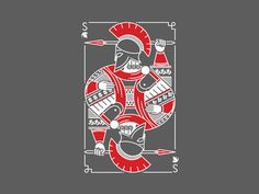 Spartan Poker Card