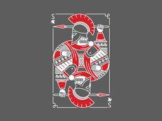 Spartan Poker Card