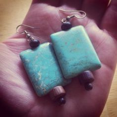 instagram.com/scenesister #turquoise #earrings #jewelry