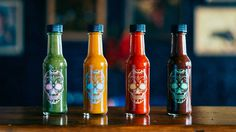 MEXICO Hot Sauce Packaging by Studio Six