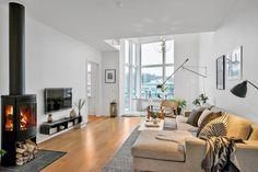 Lovely Scandinavian Duplex Inspiring a Calm and Welcoming Ambiance