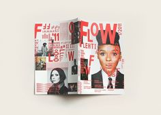 Tsto | Flow Festival 2011 / Bench.li #print #design #graphic #magazine #typography