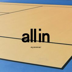 all in eyewear #logo tennis