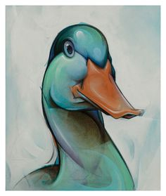 Malik Heilmann | Reineke Fuchs #duck #illustration #malik #art #heilmann