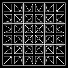Vanishing Point #illusion #pattern #dimension #geometric #outline