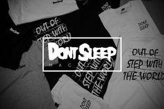 www.dontsleepmagazine.com #don #design #sleep #shirts #typography
