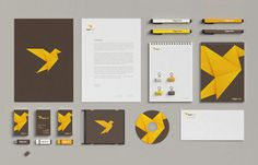 Lingua Viva - Language School Rebranding Case Study by Necon #branding #bird