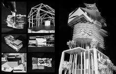 The Models Flash Forward School of Architecture on Behance #project #architect #school #architecture #work