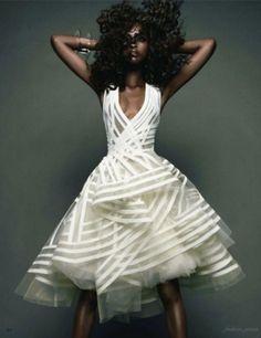 Merde! - leahc: Nyasha Matohondze by Sølve... #fashion #photography