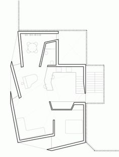 Dezeen » Blog Archive » Casa Lude by Grupo Aranea #drawings #plans #void #solid #architecture #houses