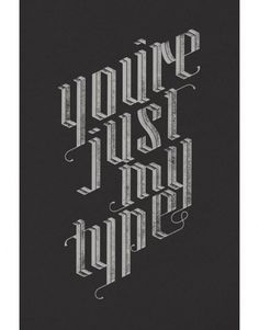 grain edit · Jude Landry #type #poster
