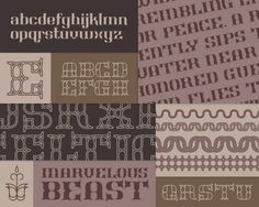 Marvelous Beast on Typography Served #typography