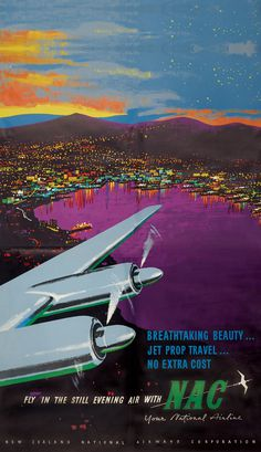 night, sunset, colors, airplane, poster, airline, print