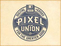 Dribbble - P2 Union Cut by Richie Stewart #type #logo #typography