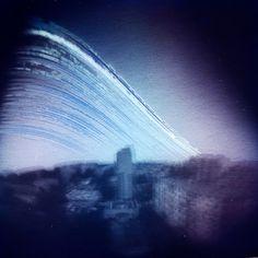 Pigeon Effect, photography by Danuta Turkiewicz #blue