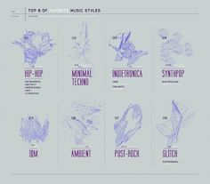 EIGHT - KFKS #music #infographics #design #kfks