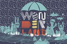 Fonts - YWFT Wonderland by Jackkrit Anantakul - YouWorkForThem #font #illustration #ywft #typography