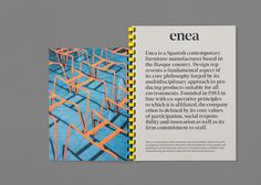 Enea's brand identity and art direction on Behance