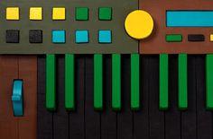 TODD ST. JOHN #wood #keyboard