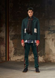 Pigalle Fall 2017 Menswear Collection Photos - Vogue #color #blocking #details