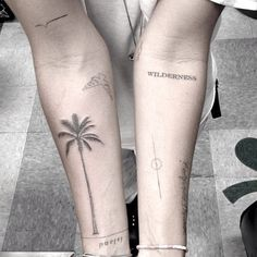 tattoo #tattoo #palm tree