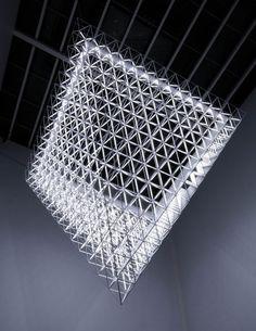 Fragment by United Visual Artists (UVA) #art #installation #light #space #room