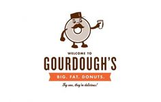 All sizes | Gourdough's | Flickr - Photo Sharing! #branding #cody #gourdoughs #design #haltom #cartoon #logo #character