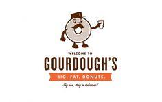 All sizes | Gourdough's | Flickr - Photo Sharing! #branding #cody #gourdoughs #design #haltom #cartoon #logo #character