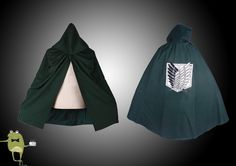 Attack on Titan Scouting Legion Survey Corps Cloak #corps #cloak #survey