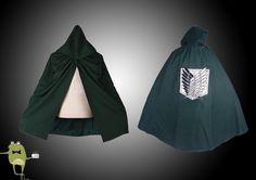 Attack on Titan Scouting Legion Survey Corps Cloak #corps #cloak #survey