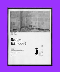 Rodan Kane Hart— Jack Walsh #rodankanehart #london #design #jackwalsh #book #artistbook #photography #data #yorkshire #leeds #artist