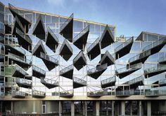 자전거 타고옥상까지 삐죽빼죽 삼각 발코니… 발칙한 친환경 건축 - 1등 인터넷뉴스 조선닷컴 #ingels #big #photography #architecture #bjarke