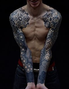 Nazareno Tubaro #tattoo #ink #geometric